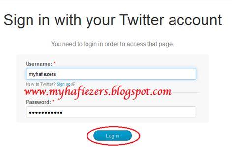 cara membuat status twitter cara membuat aplikasi update status twitter via apa aja
