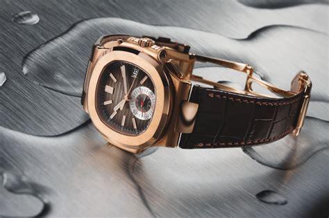 Patek Philippe Nautilus Moonphase Silver Brown Leather relojes que se revalorizan foro general