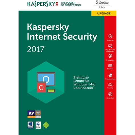 Kaspersky Security 5 User kaspersky security 2017 5 user upgrade mini box