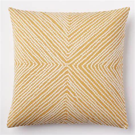 west elm pillows dot crewel pillow cover golden gate west elm