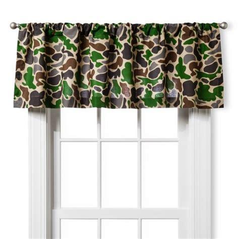 camo window curtains circo 174 camouflage window valance green target