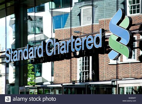 what is a chartered bank standard chartered bank stockfotos standard chartered