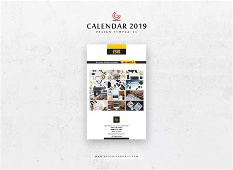 page design template free free 13 pages 2019 calendar design templates graphic