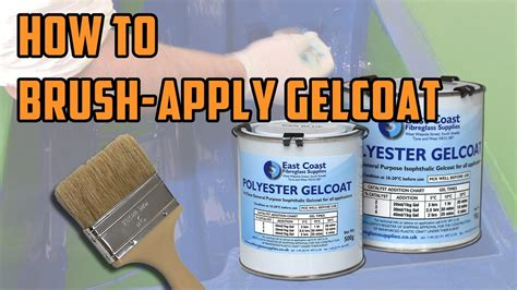 quicktips   brush apply gelcoat youtube