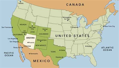 arizona usa map kmhouseindia the battle of the us mexico frontier