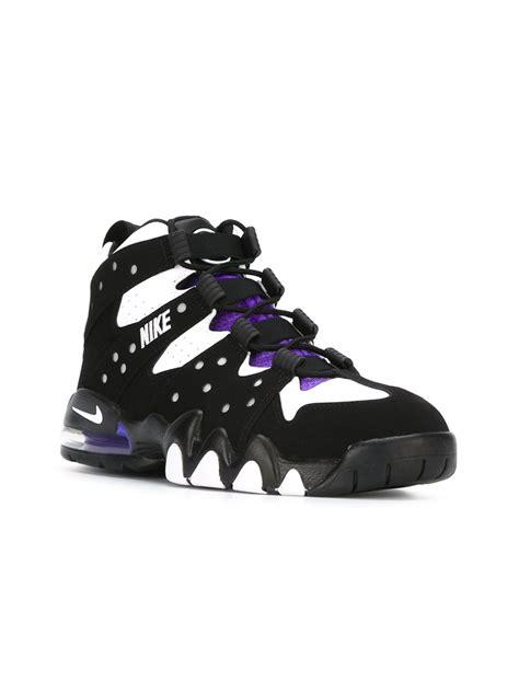 high top sneakers for nike nike air max hi top sneakers in black lyst