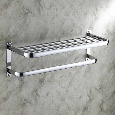 porte serviette chrome   cm pour salle de bains