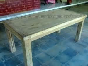 Meja Tv Bekas meja makan rastyk antik kayu jati bekas recycle ud