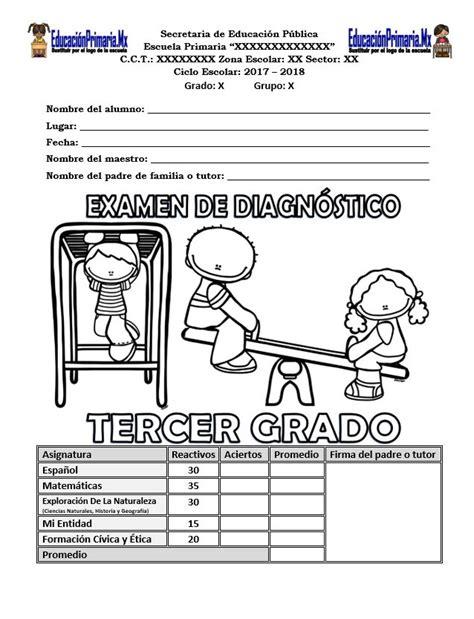 examen montenegro 3 grado primaria guias de segundo grado de primaria montenegro examen