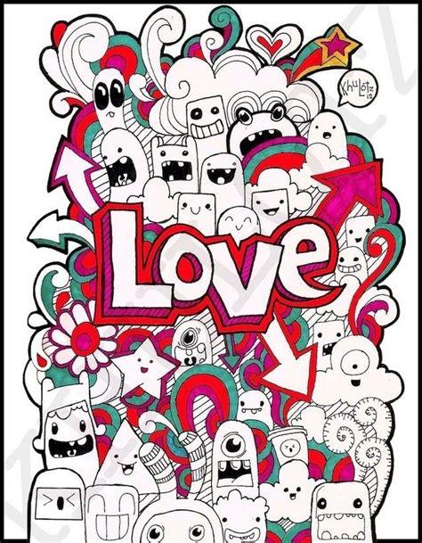 x doodle doodle by ghem doodles amour