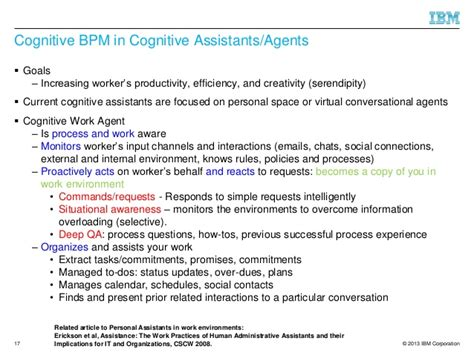 towards cognitive bpm as a platform for smart process support un