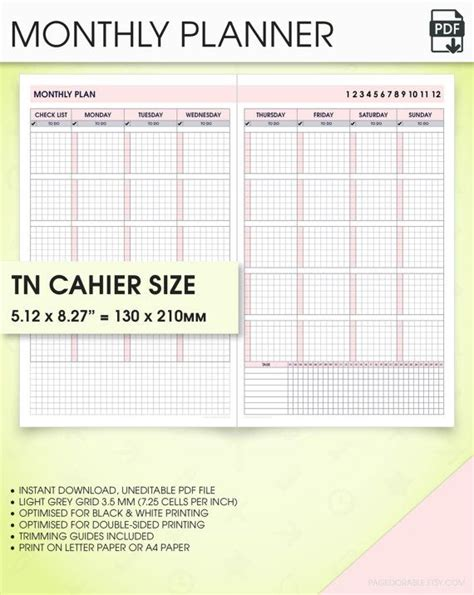 printable planner notebook 1000 images about diy planner printable travelers