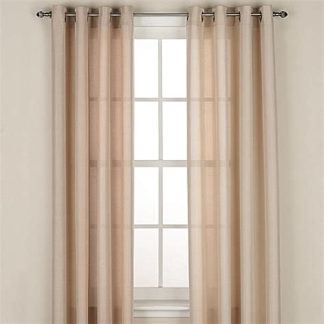 regal home collections drapes regal home collections avery grommet window curtain panel