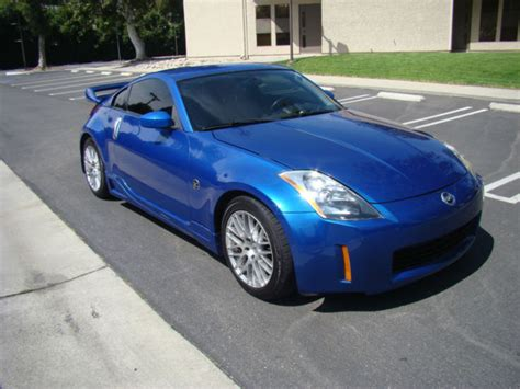 blue nissan 350z with black 2003 nissan 350z 6 speed manual enthusiast sports coupe