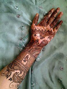 henna design by alia khan by alia khan