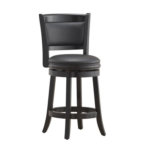 home decorators collection square seat special values bar home decorators collection jacob 24 in black bar stool