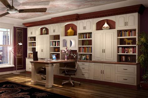 Custom Home Office Desk 26 Home Office Designs Desks Shelving By Closet Factory