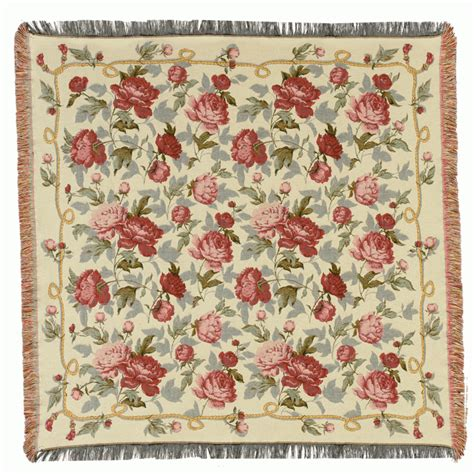 Tapestry Throws by Roses Roses Roses Tapestry Throw Blanket