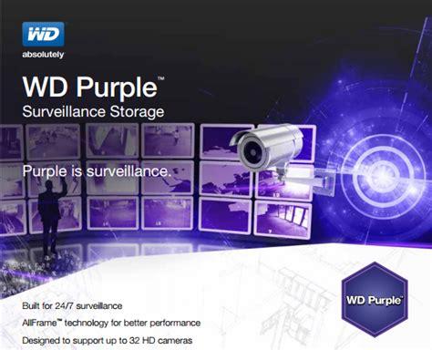 Harddisk Cctv Wd Purple 4 Tb Garansi 3 Tahun Bozzz western digital purple surveillance storage 4tb hdd review
