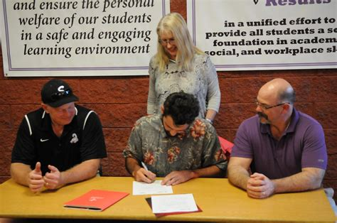 Letter Of Intent Concordia Sports Sedona Rock News Sedona News Things To Do