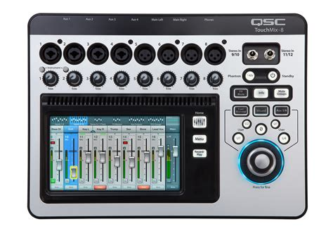 Mixer Digital Qsc Touchmix 16 qsc touchmix 8 compact digital touchscreen mixer pro