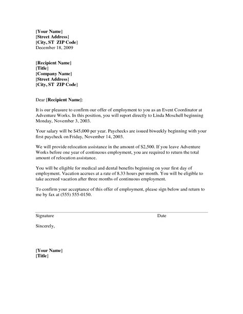 Cover Letter Exles With Relocation best photos of relocation letter sle relocation cover