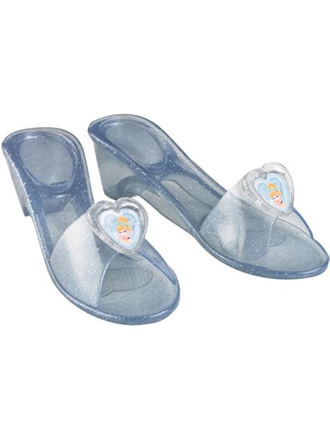 cinderella slippers for adults child disney cinderella jelly shoes fancy dress glass