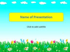 children powerpoint templates a hamster template for presentation