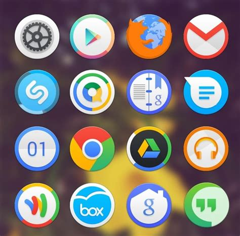 icon packs for android 20 best free icon packs to customize your android