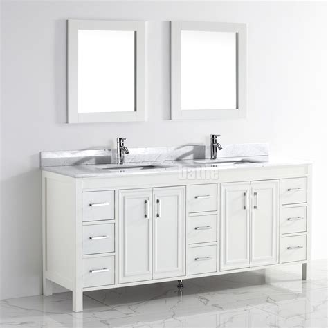 75 inch sink vanity top studio bathe corniche 75 inch bathroom vanity white