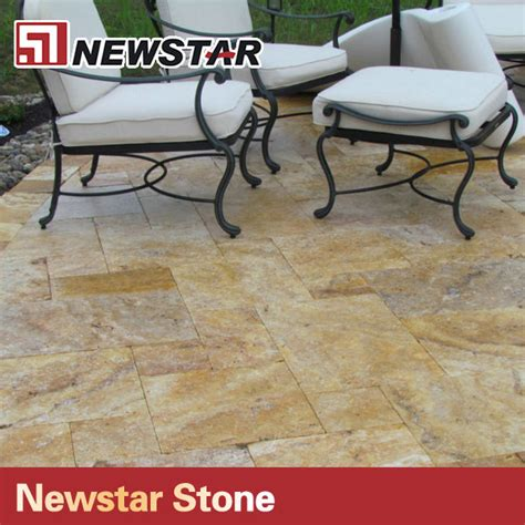 cheap pavers for patio newstar cheap travertine patio pavers for garden floor