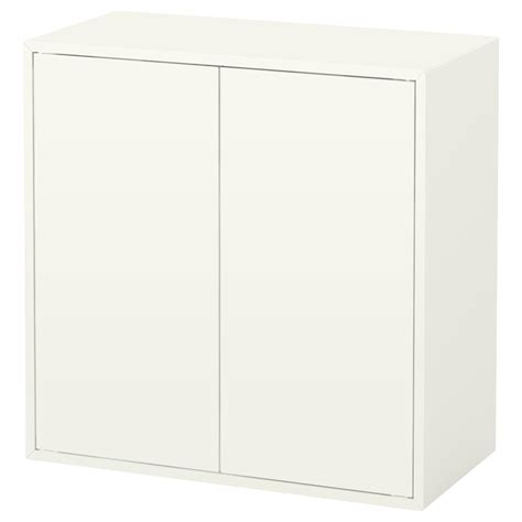 kommode 100 x 60 eket cabinet w 2 doors and 1 shelf white 70x35x70 cm ikea