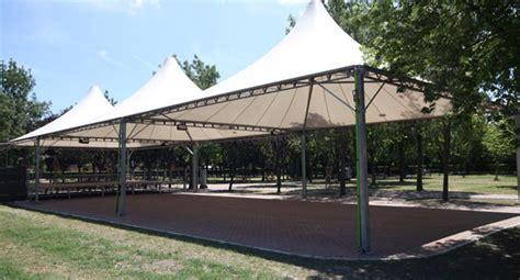 strutture per gazebo anceschi carlo strutture e tendoni per circo gradinate