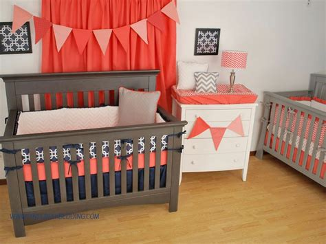 Coral And Navy Nursery by Navy Coral Nursery Inspiration Girls Room Non Pink
