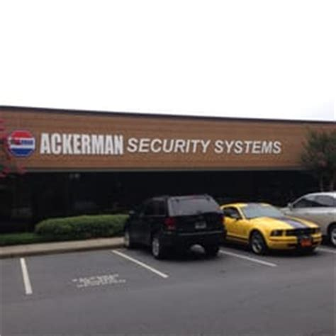 ackerman security systems norcross ga yelp