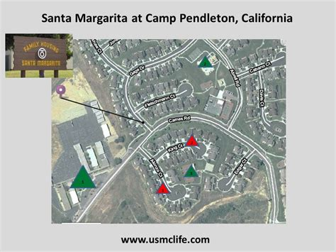 c pendleton base housing floor plans santa margarita1 usmc life