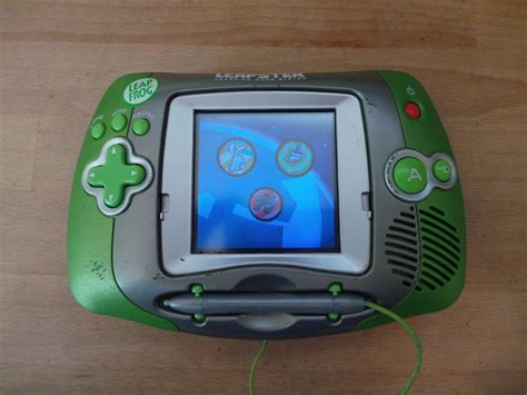 leapfrog console leapfrog leapster learning system console grean