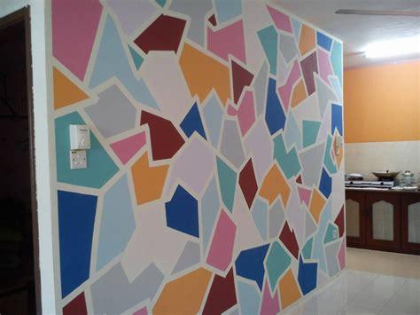 wallpaper dinding warna warni corak hiasan dinding desainrumahid com