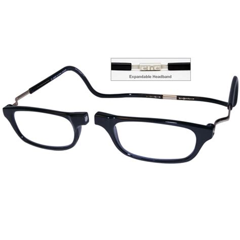 clic 1 25 diopter magnetic reading glasses expandable