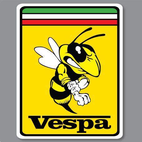 Aufkleber Honda Px by 2x Vespa Piaggio Ferrari Bee Biene Hornet Wasp Aufkleber