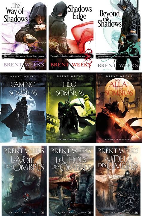 Pdf Trilogy Brent Weeks by Series By Brent Weeks World Of Covers