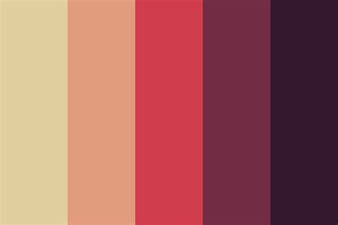 color or colour sleepy village color palette
