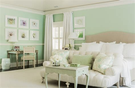 mint green bedroom walls mudroom beadboard transitional laundry room benjamin