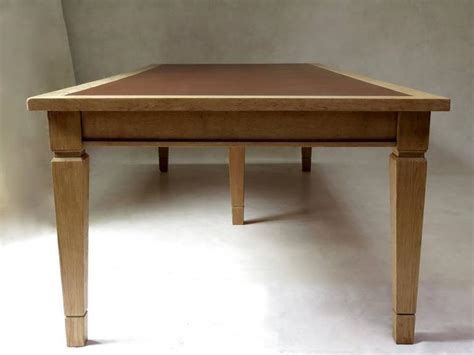 Oak Conference Table Large Deco Oak Conference Table 1940s For Sale At 1stdibs