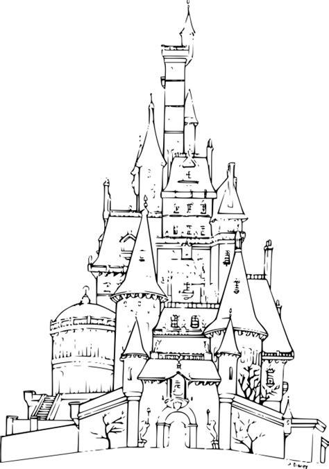 coloriage chateau reine des neiges 224 imprimer sur