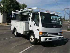 Isuzu Utility Truck For Sale Isuzu Npr 2005 Isuzu Npr Service Utility Truck For