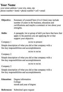 A Resume Format by Resume Format Android Apps On Google Play