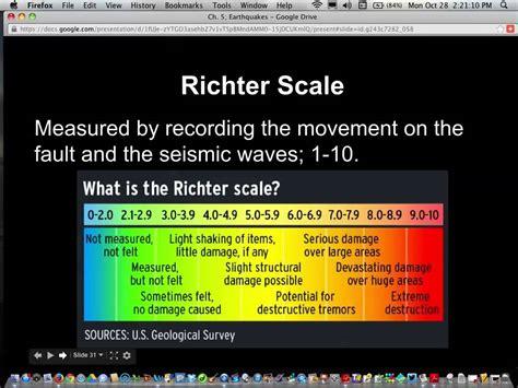 how are measured earthquake magnitude measurement