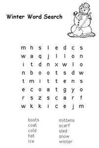 free kids printable activities winter word challenge coloring pages amp word puzzles