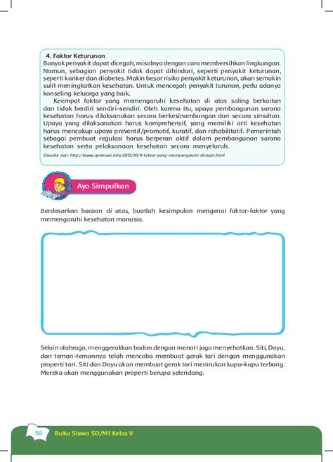 Buku Esps Mtk Kls V buku siswa kls 5 tema 4